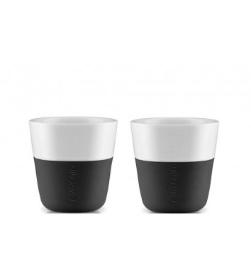 Eva Solo - Filiżanka do espresso 2 szt. Carbon black
