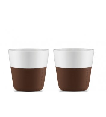 Eva Solo - Filiżanka do espresso 2 szt. Coffee brown