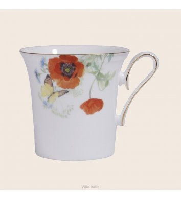Villa Italia - Kubek 350 ml FLOWERS