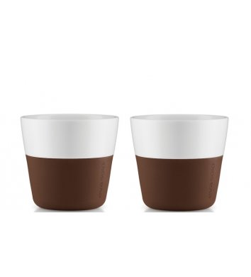 Eva Solo - Filiżanka do kawy 2 szt. Coffe brown